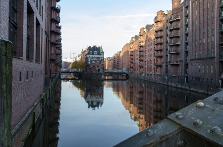 Hamburg -Speicherstadt photo