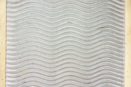 ribbed: old washboard as a background