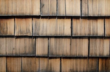 shingle: old wood shingle wall covering