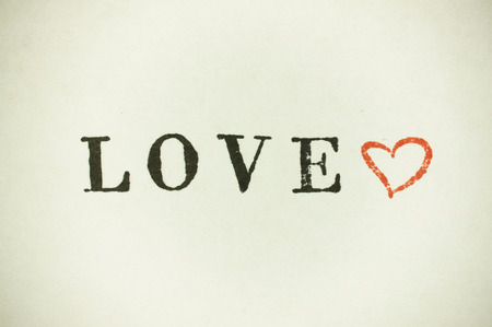 loveheart: lettering stamp text loveheart