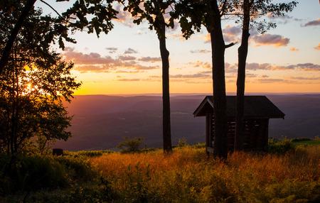 mountainside: Mountainside Sunset