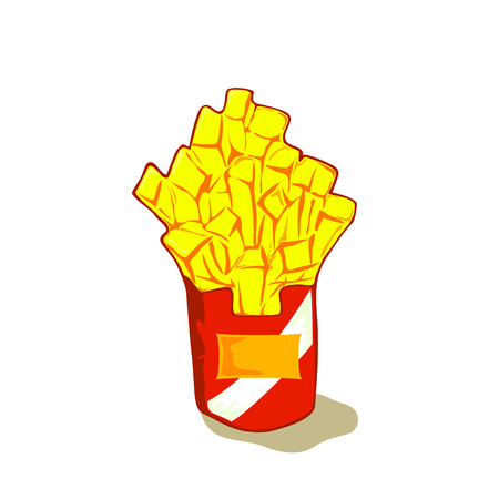 french fries: french fries vector french fries cartoon