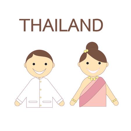 people icon: Thai people icon