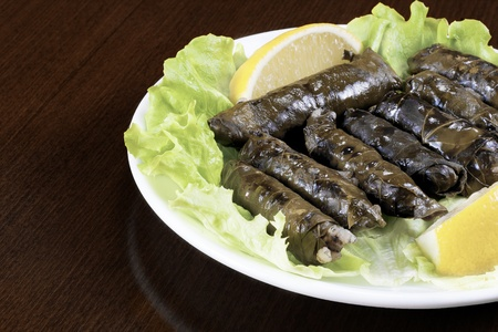 Turkish traditional food which is called sarma or dolma