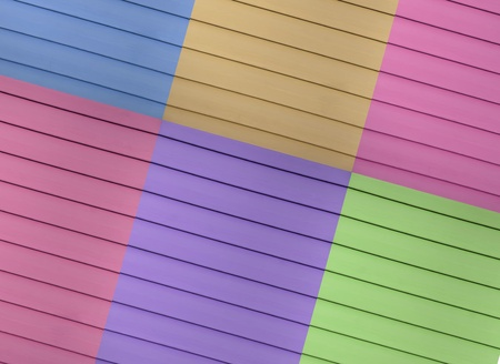 fuga:  A multi colored design example of a siding which has thin crossing fuga lines