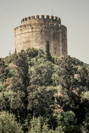 hisari: Rumeli Fortress which is built by Ottomans to protect entrance from Bosphorus
