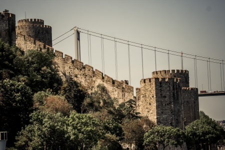 rumeli: Rumeli Fortress which is built by Ottomans to protect entrance from Bosphorus