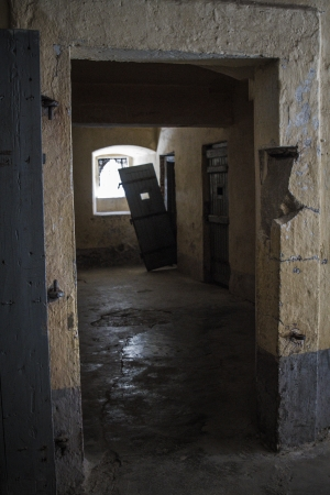 Historic prison room  in Sinop/Turkey which is open now for visitors Stock Photo - 23570179