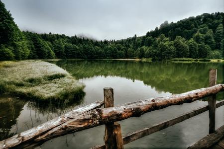 Beautiful landscape of Karagöl(means Black Lake) at Artvin, Tukey