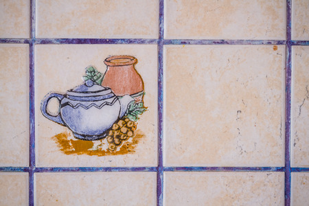 renewed: Old and dirty kitchen tiles to be repaired and renewed