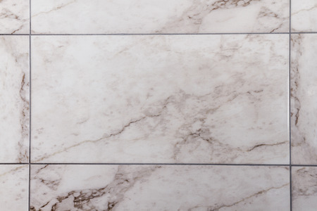 White, gray marble like ceramic tile for bathroom decoration