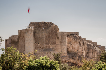 Historical Harput Castle in Elazig, Turkey