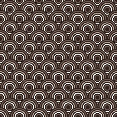 concentric: Seamless colorful abstract modern concentric circles texture, background pattern