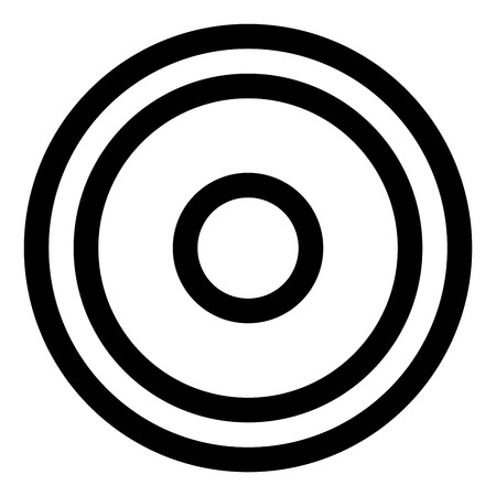 grayscale: Grayscale abstract modern concentric circle texture, background pattern