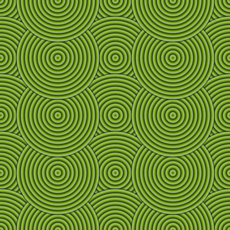 circulos concentricos: Seamless Green Abstract Modern Concentric Circles Texture, Background Pattern