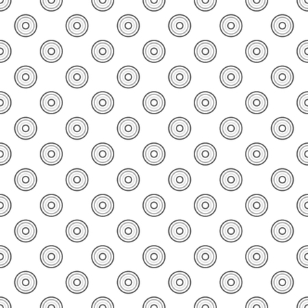 circulos concentricos: Seamless gray abstract modern concentric circles texture, background pattern