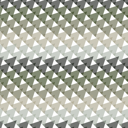 textile texture: Seamless colorful abstract modern pattern created from triangles
