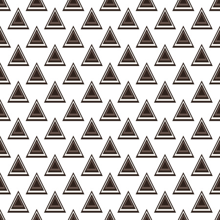 brown pattern: Seamless modern abstract brown pattern created from triangle intersections