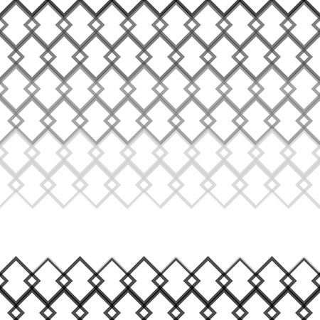 gray scale: Seamless gray scale abstract modern pattern created from square intersections