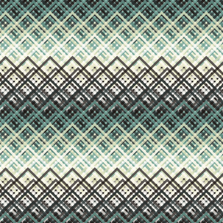 group pattern: Seamless colorful abstract modern pattern created from rectangle wire  intersections
