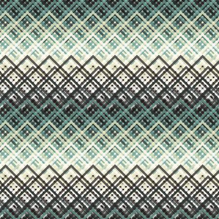 black block: Sin fisuras patrón de colores abstracta moderna creada a partir de las intersecciones de alambre rectángulo