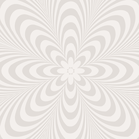 ellipses: Black and white abstract flower pattern created from circle and ellipses