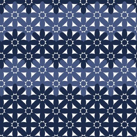 elipse: Resumen patr�n de flores de colores sin fisuras creado a partir de c�rculo y la elipse intersecciones