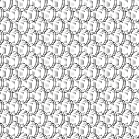 ellipse: Abstract black and white seamless geometric background created from ellipse patterns