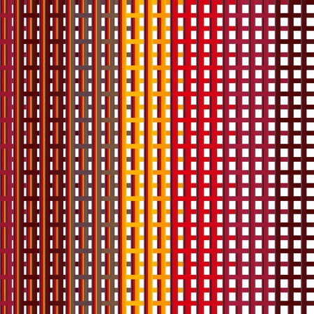 rhythm: Seamless colorful abstract modern line pattern
