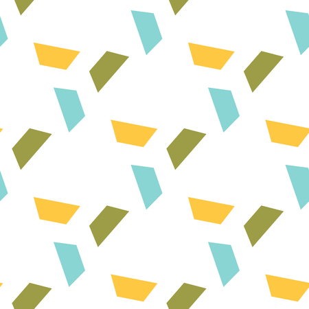 trapezoid: Seamless colorful abstract modern pattern created from repetitive trapezoids