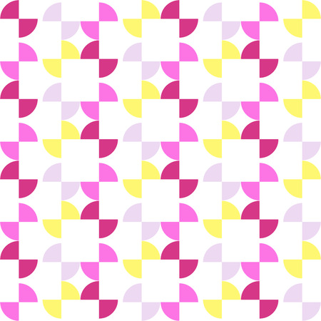 arcs: Seamless colorful abstract modern pattern created from repetitive arcs Illustration
