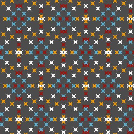 punto de cruz: patr�n de punto de cruz bordado abstracto transparente sobre fondo gris