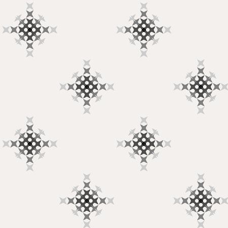 punto de cruz: patrón de punto de cruz bordado abstracto transparente sobre fondo claro