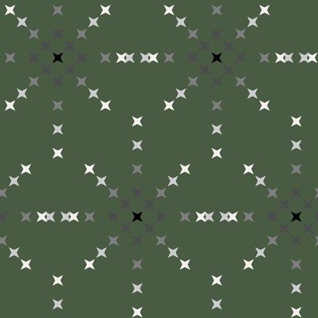 punto de cruz: patr�n de punto de cruz bordado abstracto sin fisuras en el fondo verde