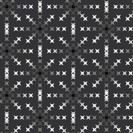 punto de cruz: patrón de punto de cruz bordado abstracto transparente sobre fondo gris