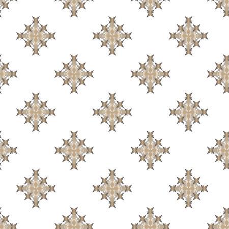 punto de cruz: Seamless abstract cross-stitch embroidery pattern on light background