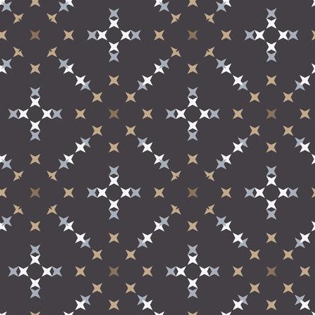 punto de cruz: patrón de punto de cruz bordado abstracto sin fisuras en el fondo de colores