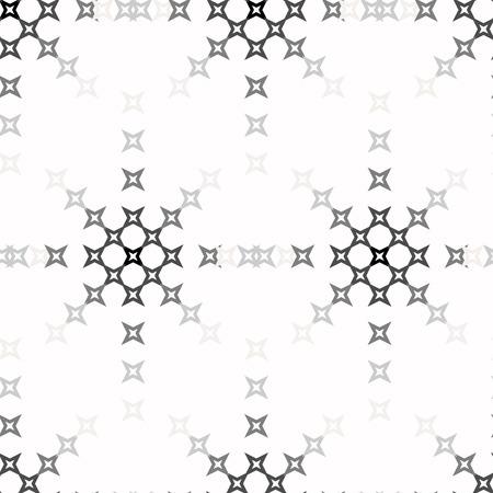 punto de cruz: patr�n de punto de cruz bordado abstracto sin fisuras en el fondo blanco