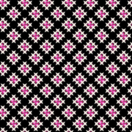 crossstitch: Seamless abstract cross-stitch embroidery pattern on colorful background