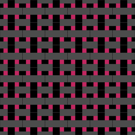 Seamless abstract pattern created from repetition of plus cross symbols Illustration