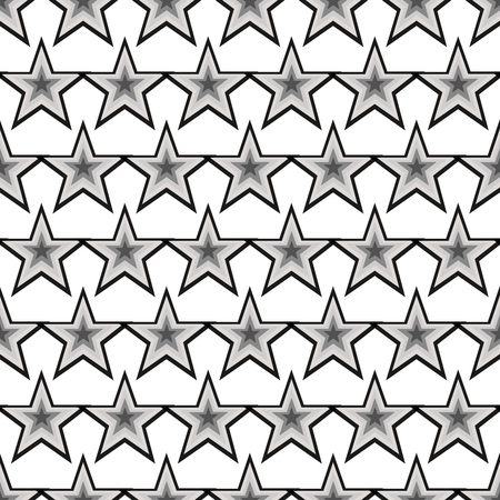 star background: Seamless modern abstract star texture, background pattern Illustration