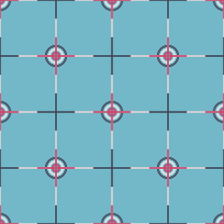 designs: Seamless abstract modern pattern created from Circles and Lines