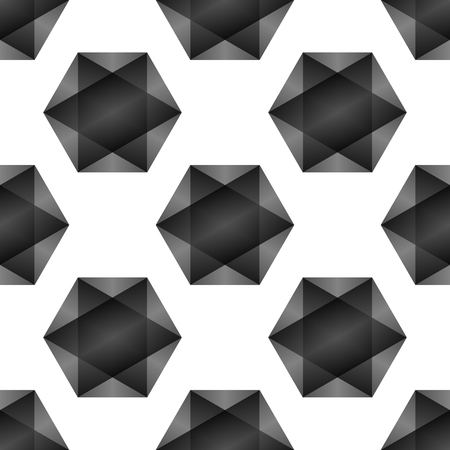 repetition: Seamless abstract pattern created from repetition of plus cross symbols Stock Photo