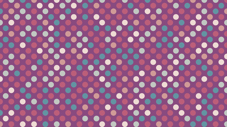 Polka dot pop art creative design, vector illustration, abstract background 矢量图像