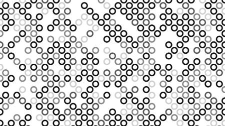 Black and white polka dot pop art creative design, vector illustration, halftone background