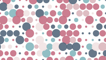 Polka dot pop art creative design, vector illustration, abstract background Illusztráció