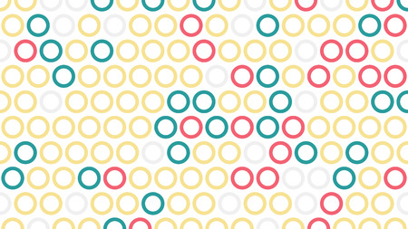 Polka dot pop art creative design, vector illustration, abstract background Illustration