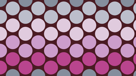 Polka dot pop art creative design, vector illustration, abstract background Ilustração