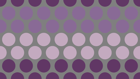 Seamless polka dot pop art creative design, vector illustration, metallic abstract background