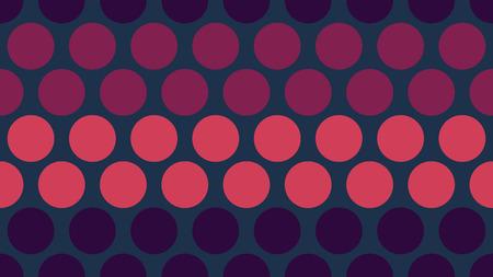 Seamless polka dot pop art creative design, vector illustration, metallic abstract background